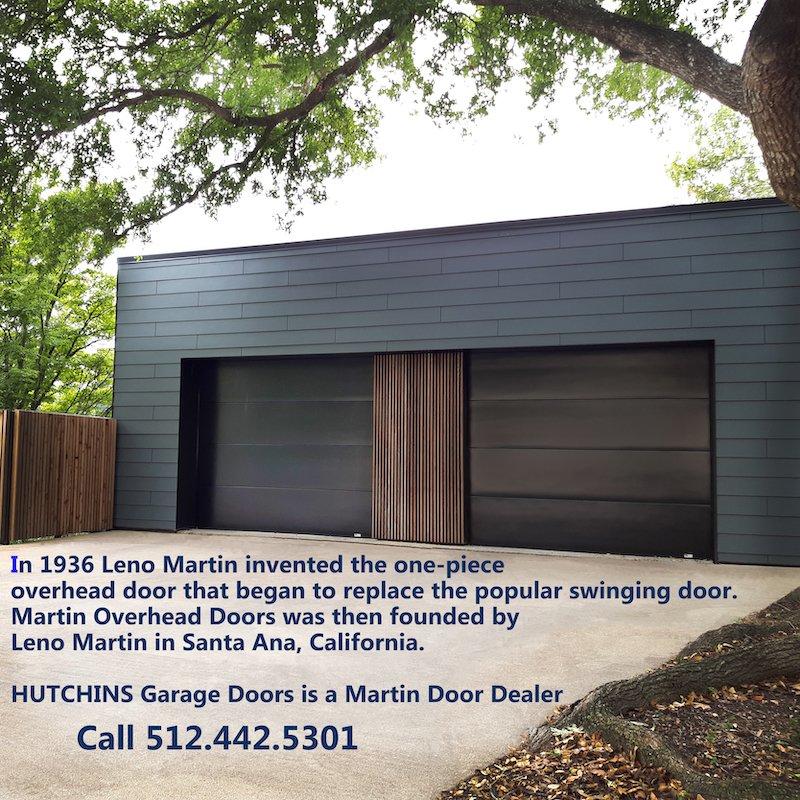 Martin Cornerstone Flush2 Garage Door