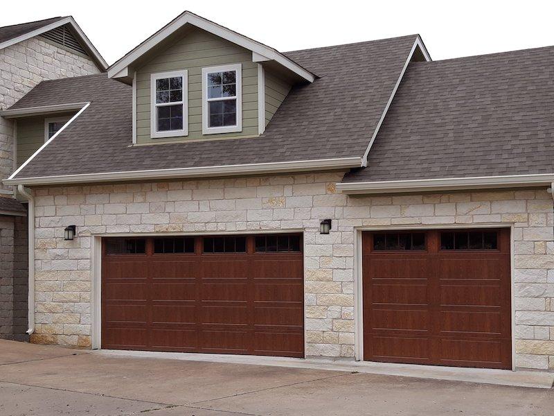 Residential Garage Door Doorlink 3640 Oak Color (2)