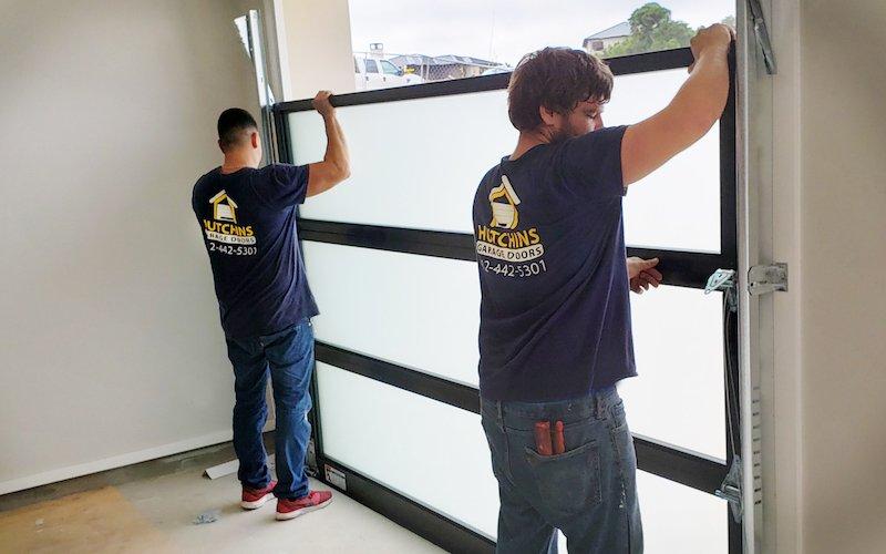 Residential Garage Door-Install